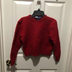 Ralph Lauren red sweater!